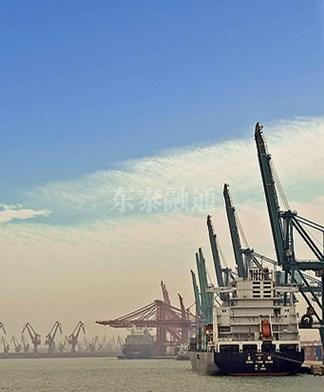 天津港口码头物流