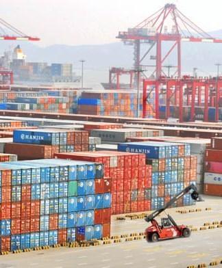 上海港口码头物流