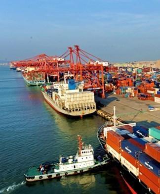宁波港口码头物流